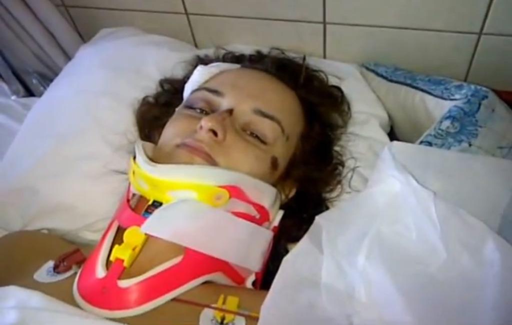 Beata Jałocha w szpitalu po wypadku
