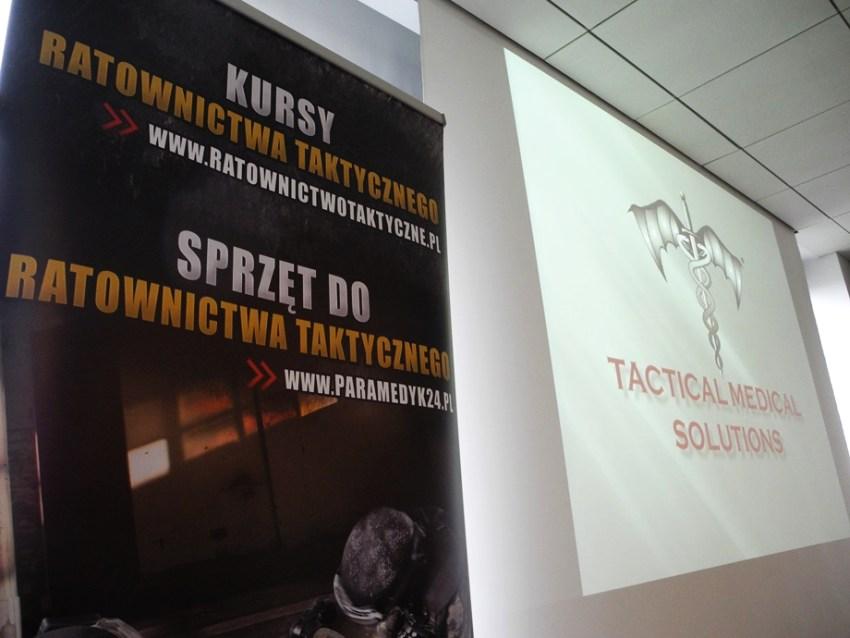 Organizatorzy szkolenia: Paramedyk24.pl i Tactical Medical Solutions.