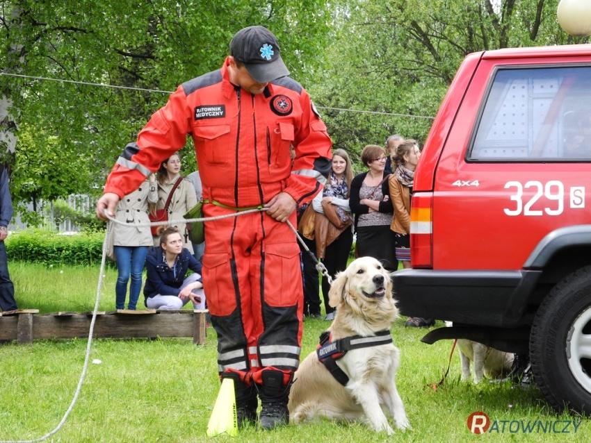 ...oraz działań ratowniczych realizowanych z psami.