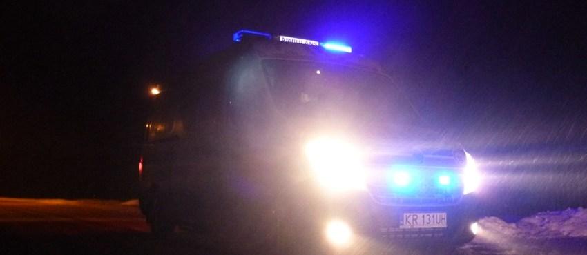 Ambulans Krakowskiego Pogotowia Ratunkowego