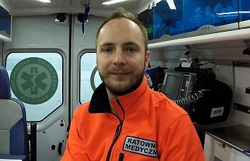 Grzegorz Nowak ratownik medyczny
