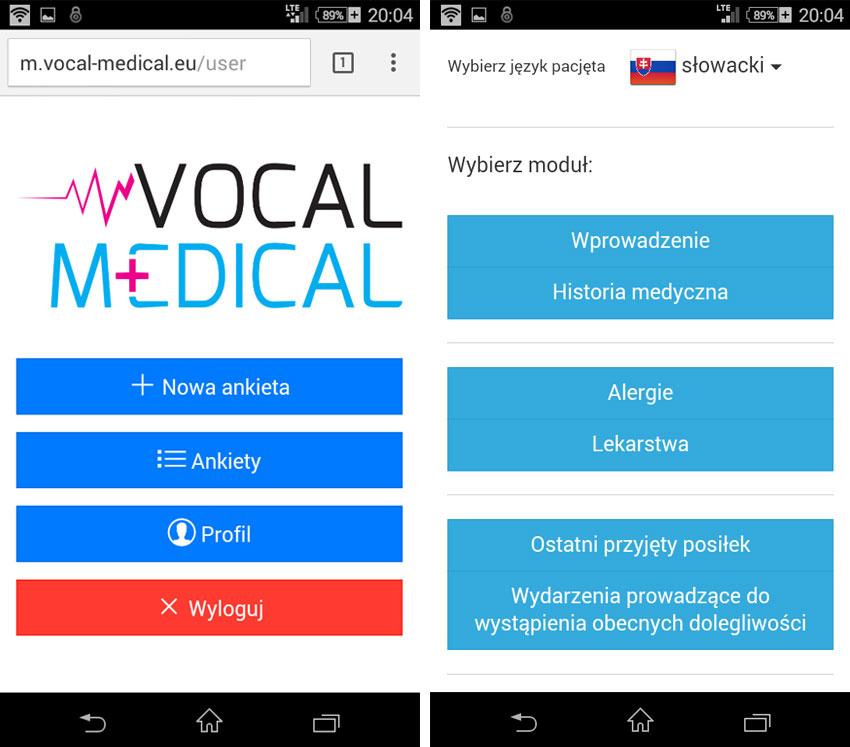 Vocal Medical Mobilnie