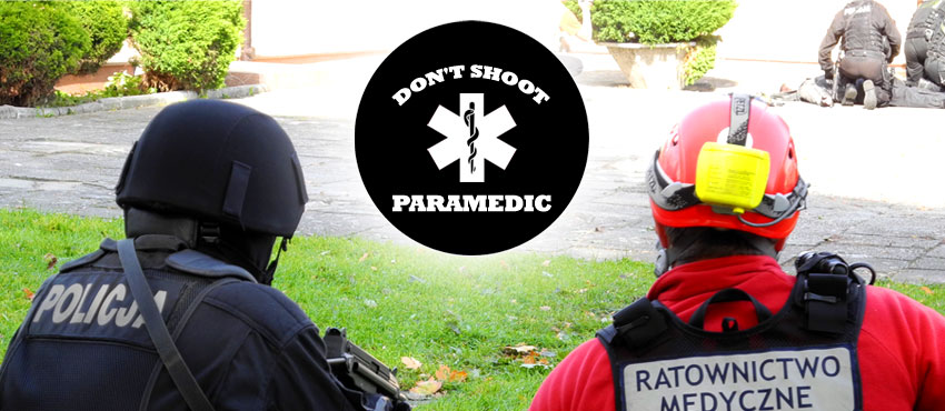 Don't shoot - paramedic