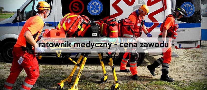 Cena zawodu ratownika medycznego
