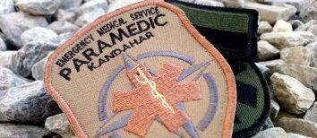 Tak wygląda praca jako ratownik medyczny w bazie NATO w Afganistanie