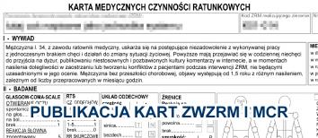 Publikacja kart wyjazdowych przez ratowników w internecie - co o tym myślę?